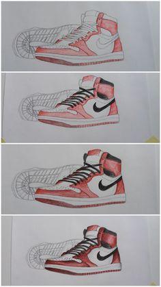 42f46487058c33 8 Best jordan shoe drawing book images