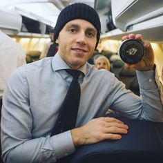 With the puck from his 700th NHL point