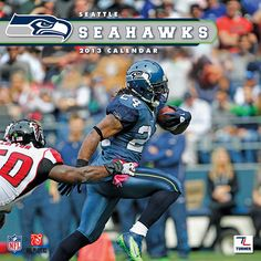 Seattle Seahawks Wall Calendar: Specially designed for the die-hard Seattle Seahawks fan, Turner Licensing presents the ultimate 2013 NFL wall calendar! Your favorite players are displayed in vivid action-packed images along with player bios, team trivia and noteworthy NFL historical dates every month.  http://www.calendars.com/Seattle-Seahawks/Seattle-Seahawks-2013-Wall-Calendar/prod201300001251/?categoryId=cat00508=cat00508#