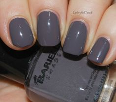 """Barielle """"Taupe Notch"""" www.colorfulcrack.com"""