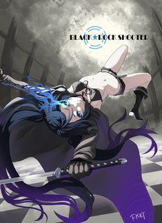 anime vocaloid black rock shooter
