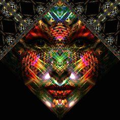 fractal face