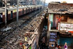 India's Slums - not the tourist attraction but still the reality and way of life.