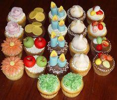 Persian New Year Cupcakes! SO CUTE!
