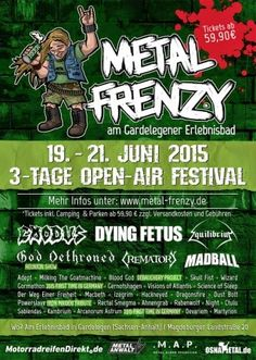 New-Metal-Media der Blog: Aktion Barrierefrei 2015 - Das Lineup des Metal Frenzy #news #festival #wheeelchair #germany