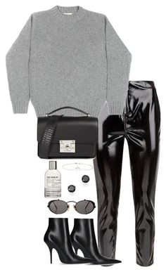 """""""Untitled #4872"""" by theeuropeancloset on Polyvore featuring Thread, Sam Edelman, Balenciaga, Jennifer Meyer Jewelry, Jean-Paul Gaultier, Le Labo and Bloomingdale's"""