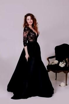 0962d82be6d 41 Best black wedding dresses images in 2019