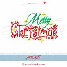 651 Christmas : Merry Christmas 5x7