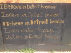 At the recycling center Recycling Center, Great Love, Chalkboard Quotes, Art Quotes, Detroit