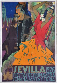 Semana Santa Sevilla Cartel 1926