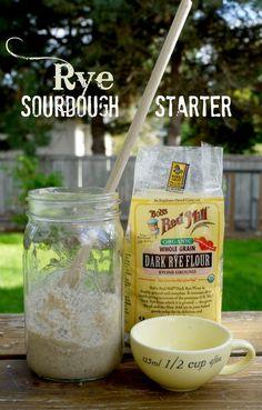 Rye Sourdough Starter | The Good Hearted Woman