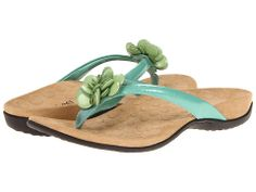 """Orthaheel Fleur II Toe Post. These are SO SO comfortable and """"good for you"""" too according to Dr Andrew Weil."""