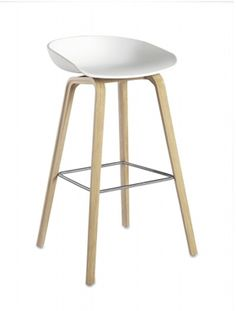 Banqueta About a Stool (AAS 32), Branca