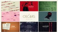 Directed & Designed by Henry Hobson with Elastic   The nomination package for the Best Picture Category in the 2015 Academy Awards, as part of a series of…