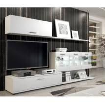 Murat a megfizethető modern nappali bútor - fehér színben  74.400 Ft Flat Screen, Furniture, Home Decor, Living Room Sets, Lounges, Blood Plasma, Decoration Home, Room Decor, Flatscreen