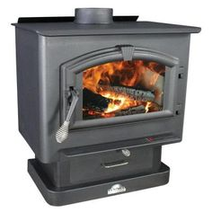 US Stove 2,000 sq. ft. EPA Certified Wood-Burning Stove-2000 - The Home Depot