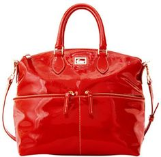 Dooney & Bourke Red Patent Leather