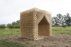 Gallery of Students Construct Timber Structures in the Argentinian Countryside with Hello Wood Argentina - 9