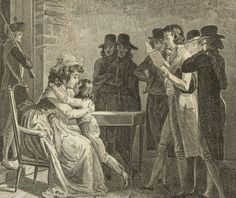 Marie Antoinette's farewell to her son, Louis Charles, July 3, 1793.
