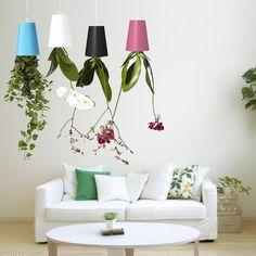Superior quality1Pc Sky Planter Hanging Indoor suspension Flower Pot Upside Down Plant PotStylish