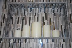 Candles are a great to use a decoration for your bathroom