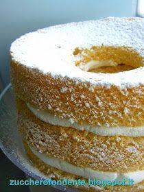 zuccherofondente: Chiffon Cake...paradisiaca!!! Torta Chiffon, Cake Recipes, Dessert Recipes, Desserts, Tall Cakes, American Cake, Buzzfeed Tasty, Sweet Cooking, Sweets