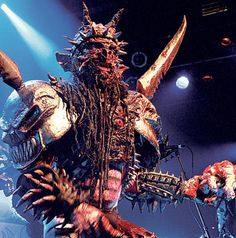 "gwar | The European leg of GWAR's ""Return Of The World Maggot"" tour ..."