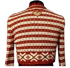Ravelry: Bolero Fritt etter Fana pattern by Sidsel J. Knitting Designs, Knitting Patterns, Crochet Patterns, Norwegian Knitting, Pullover, Color Patterns, Christmas Sweaters, Knit Crochet, Men Sweater