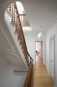 Architect Steven Harris And Designer Lucien Rees Roberts: Francesca  Connellyu0027s 1890u0027s Brownstone Stair Moulding,