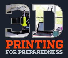 My first book: 3D Printing for Preparedness : an intro to 3D printing for preparedness
