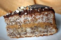 Венесуэльский торт с орехами и вареной сгущенкой