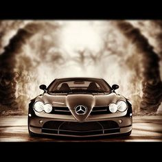 Beautiful Mercedes SLR