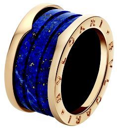 Bulgari marble lapis lazuli ring