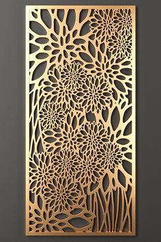 Decorative Metal Screen, Decorative Panels, Metal Wall Art Decor, Wood Art, Laser Cut Panels, Laser Cut Metal, Jaali Design, Cnc Cutting Design, Window Grill Design