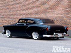1954 Chevrolet Bel Air Shapely Bow Tie Driver Side Rear View