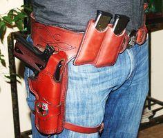 Wild Bunch 1911 Holster Cowboy | ... wild bunch rig,custom holster, marstongunleather custom wild bunch