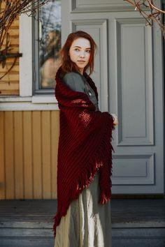 Pitsineulehuivi Novita Nordic Wool Dress For Success, Yorkshire, Knit Crochet, Knitting, Pattern, How To Wear, Crafts, Inspiration, Knits