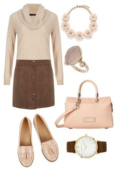 """Untitled #143"" by milena-zurabyan ❤ liked on Polyvore featuring M&S Collection, Miss Selfridge, Oasis, Marc by Marc Jacobs, Larsson & Jennings, J.Crew, Topshop, women's clothing, women's fashion and women"