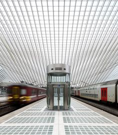Calatrava Gare Liège, Belgium