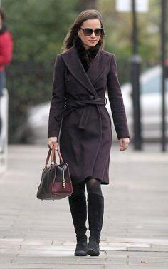 Pippa wearing Suzannah coat on 12/8/2011