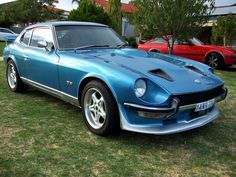 1976 DATSUN 260Z SPORTS $15990 Jdm, Cars And Motorcycles, Cars For Sale, Badass, Garage, Classic, Sports, Blue, Carport Garage