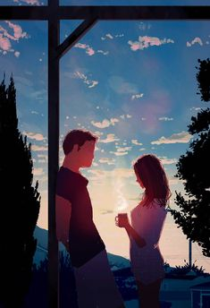 DeviantArt is the world's largest online social community for artists and art enthusiasts, allowing people to connect through the creation and sharing of art. Image Couple, Cute Couple Art, Photo Couple, Couple Illustration, Illustration Art, Couple Drawings, Art Drawings, Pascal Campion, Couple Cartoon