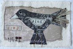 Carolyn Saxby - mixed media textiles