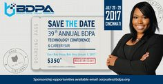 BDPA (@BDPA)   Twitter Save the Date and Save Money on Early Registration -for 2017
