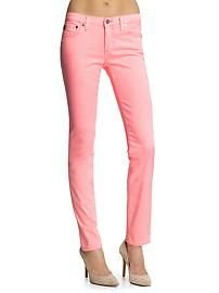 Spring and Summer must have pink skinny jeans