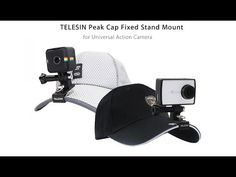 Unboxing ✔Peak Cap Fixed Stand Mount for Action Camera
