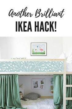 Awesome hack for my little girl's room! #ikea  #ikeahack  #ikeaideas  #affiliate