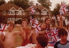 The Queen's Silver Jubilee, 1977. I remember I agonised over what to wear that day. We had to wear something red white and blue but all I had was a dress which was orange white and blue and I thought I would get into trouble! I worried a lot as a child, lol!