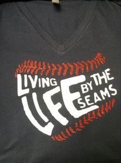 Baseball Glitter vinyl shirt by LesliesBlingShop on Etsy https://www.etsy.com/listing/234874325/baseball-glitter-vinyl-shirt