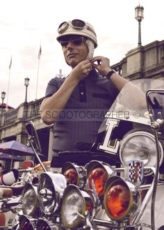 Brighton mod weekender 2013 by The Scootographer, via Behance